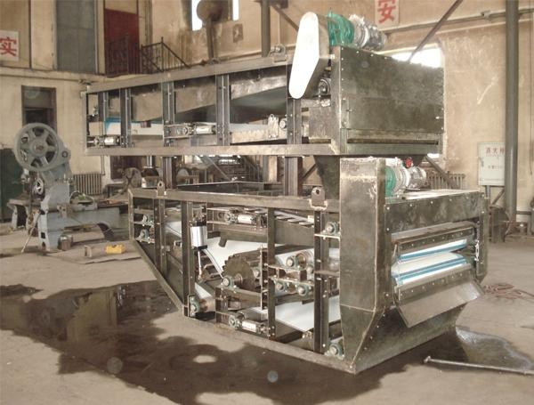 带式浓缩压滤一体机